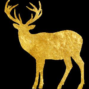 oh deer - goldener Hirsch