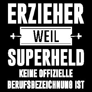 erzieher superheld maenner premium t shirt