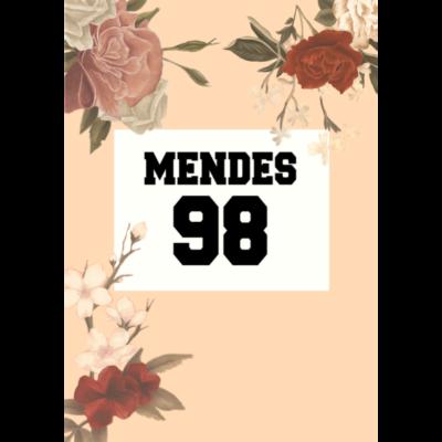 Mendes 98 -  - 98,Shawn Mendes,Mendes,Blumen,Shawn