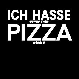 Ich hasse es wenn meine Pizza zu klein ist