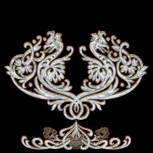 Wundervoller dekorativer Drache
