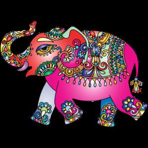Orientalische Elefantendame