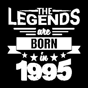 Legenden kommen aus 1995 - Jahrgang 1995 Sprüche