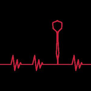Puls Heartbeat Dartpfeil