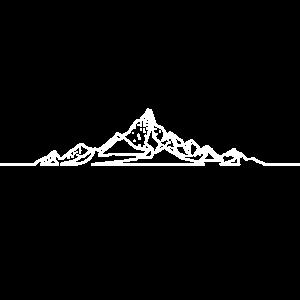 Berg Line art