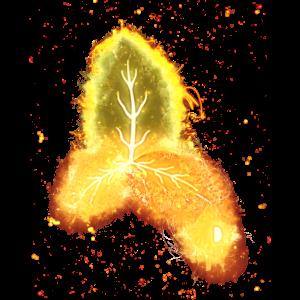 Umgebung Umwelt brennend