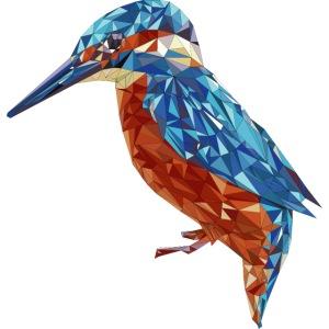 Eisvogel illustriert