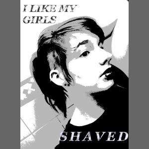i like my girls shaved