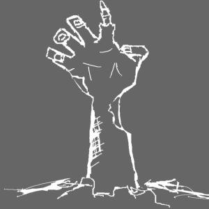 white zombie hand