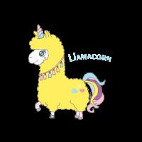 LlAMACORN - Lustiges Lamamotiv Geschenk Idee