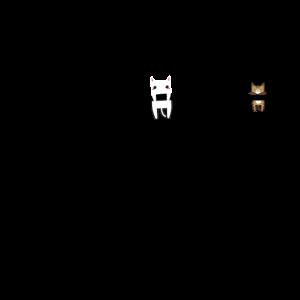 Katzen am abhängen lustiges Katzen Design Geschenk