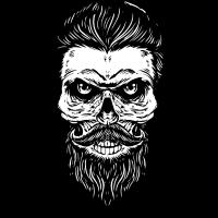 Hippster Skull
