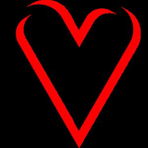 Optische Täuschung Herz