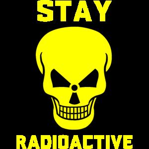 radioaktiv bleiben