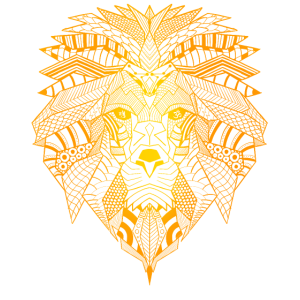 Yoga Mandala Spirituell Meditation Löwen