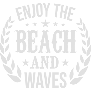 enjoy the beach and waves