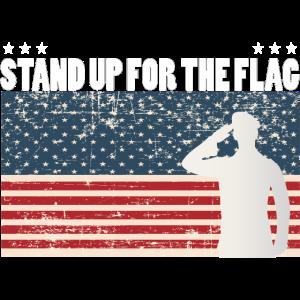Stand up for the Flag USA Geschenk Geschenkidee