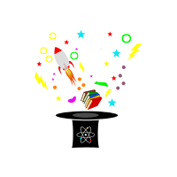 Science is like magic but real Geschenk scientist