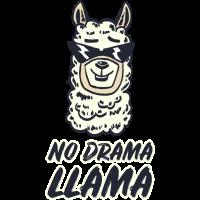 No Drama LLAMA - Lama Alpaka Trend Motiv Geschenk