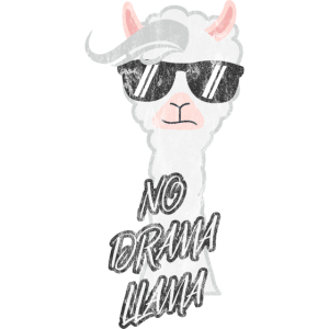 Lama Alpaka Llama Tier Hipster Mann Frau Kind Idee