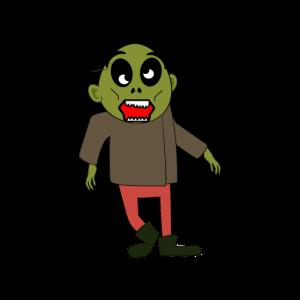 Halloween Cartoon Zombie Apokalypse