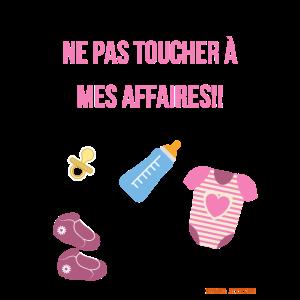 Baby-Geschäft: NICHT BERÜHREN!