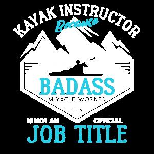Kayak Instructor Job Title