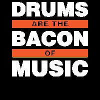 Trommeln sind der Speck der Musik Geschenk