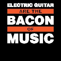 E-Gitarre sind der Speck Musik Geschenk