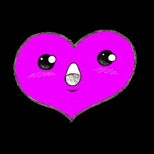 Herzerl 3 pink
