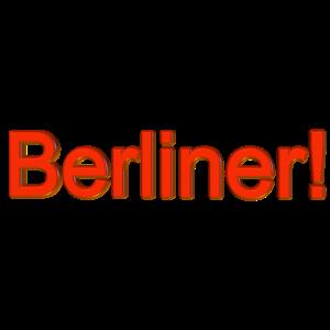 Berliner! 3D rot gold