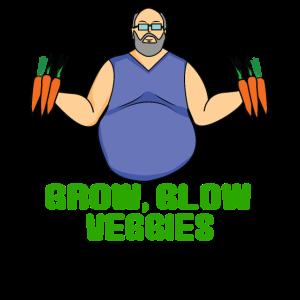 Gemüse Verkäufer