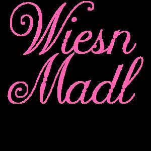 Wiesn Madl Oktoberfest Bierzelt Geschenk Bayern