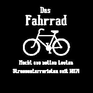 Das Fahrrad - Ich hasse Radfahrer Strassenterror
