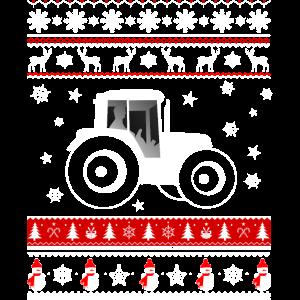 Weihnachten Shirt - Traktor und Weihnachten