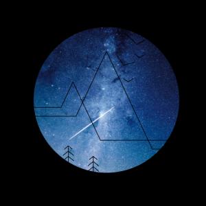 Abstrakt Natur Sterne