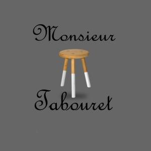 Monsieur Tabouret (Noir)