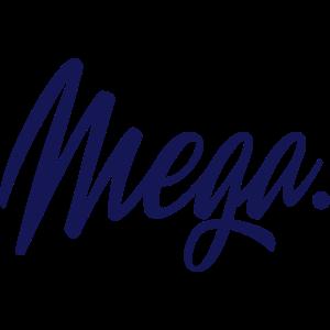 Mega Typo Schwarz Cool Geschenk Spruch