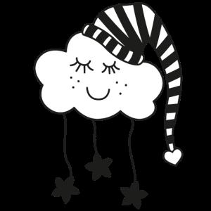 kleine Wolke / Kinder / träumen / Geschenkidee
