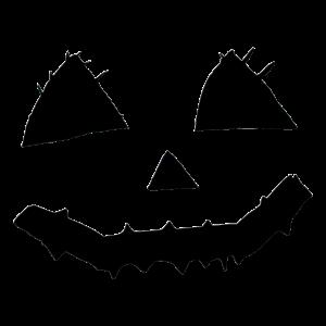 Entwurf des Kürbisschnitzens