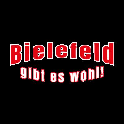 Bielefeld gibt es nicht? Gibt es wohl! - Du bist aus Bielefeld weggezogen und seitdem musst du jedem erzählen, dass es Bielefeld gibt? Sag es durch dieses T-Shirt! - Ostwestfalen,Abschluss,Liebefeld,Kollegen,Umzug,Gibt,NRW,Freunde,Bielefeld,Humor,Oetker,es,nicht,Nordrhein-Westfalen,Geschenk,Abschied