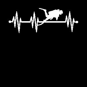 Tauchen Tiefsee Taucher Herzschlag scuba diving
