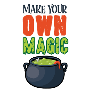 own magic Grusel Halloween Topf