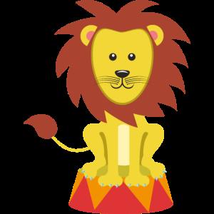 Zirkus Tiger Mähne Kater Löwe