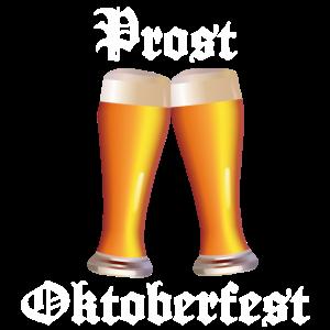 Oktoberfest lustiges Weizenbier na dann Prost!