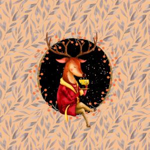 Herbstliche Waldbewohner - der Hirsch