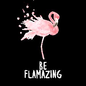 Flamingo Love Flamazing Geschenk
