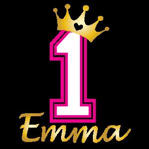 Babies erster Geburtstag Emma