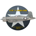 F4U-1 Corsair VMF-213 Capt. Cupp