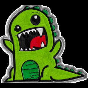 Dino genäht-Look